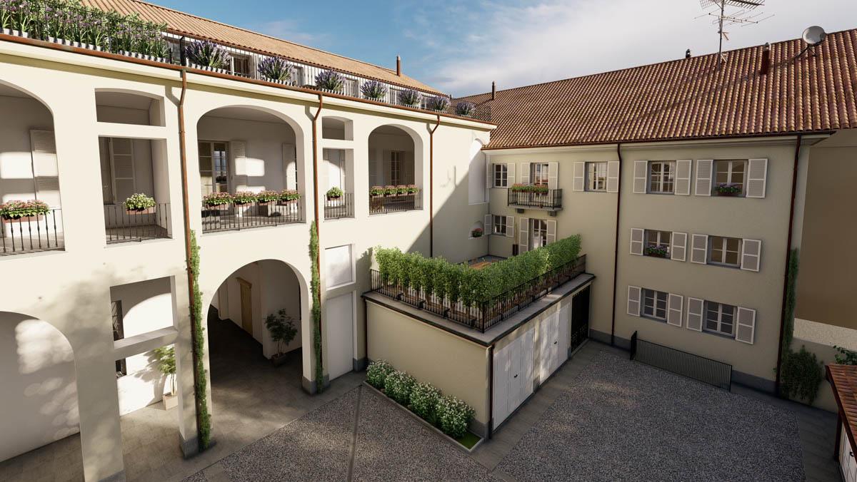 Modifica terrazzo_14A - PALAZZO SANTA CATERINA