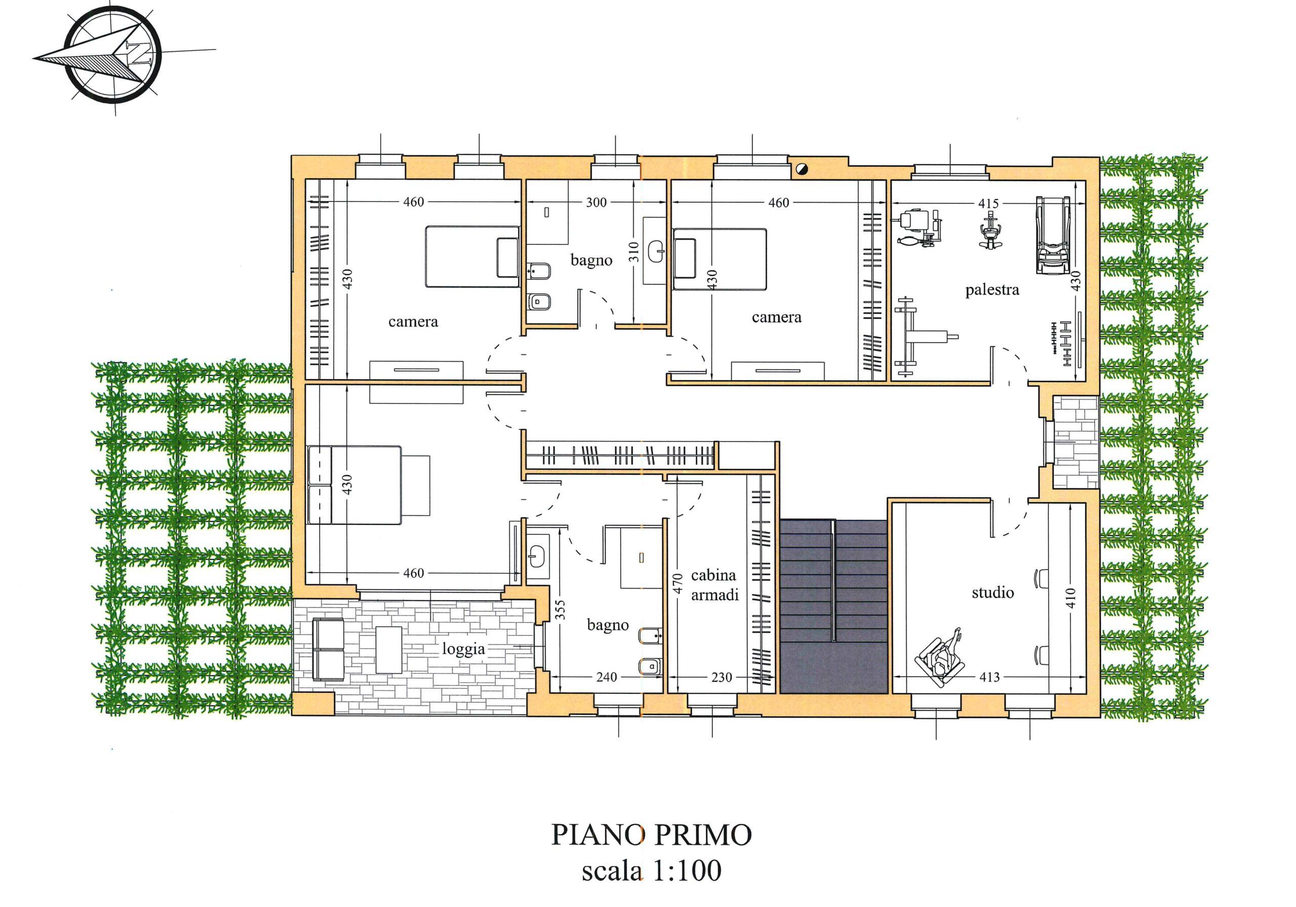 PIANO PRIMO DI PROGETTO