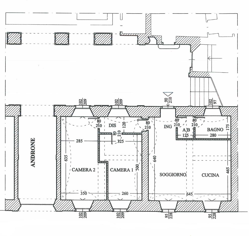 PIANO TERRA (planimetria di progetto)